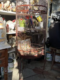 Bird Cage Bird Not Included for Sale in Whittier,  CA