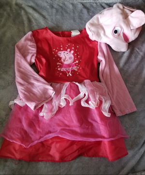 Peppa pig costume 3t-4t for Sale in Aberdeen, WA