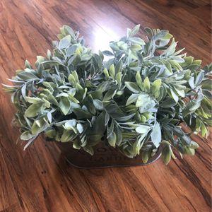 Faux Plant - Garden Pot for Sale in Seattle, WA