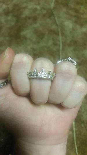 Sterling silver tiara ring for Sale in Centralia, WA