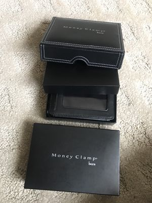 Mens small wallet and money clamp for Sale in Troy, MI