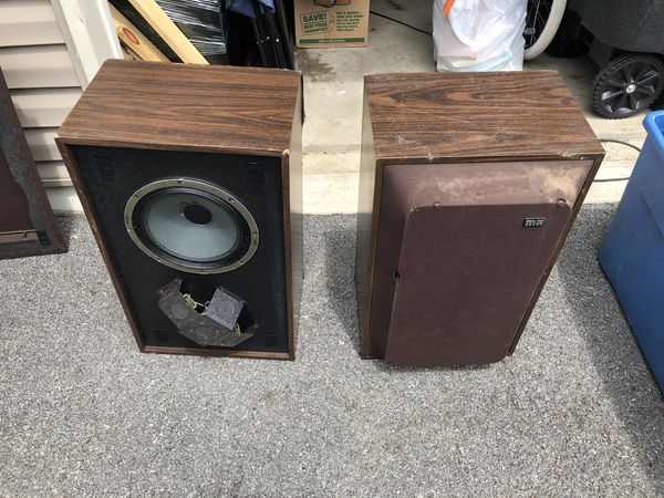 Rare Vintage Speakers 6 way Tweeter