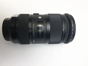 Sigma 18-35mm 1.8 Art Lens for Canon EF for Sale in South Gate, CA