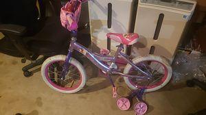 Girls princess bicycle for Sale in Santa Fe Springs, CA