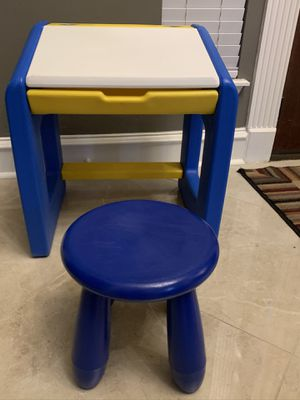Fisher Price Child Desk and Stool for Sale in Spring, TX