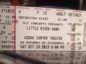 Little River Band Ticket for Sale in Buffalo, NY