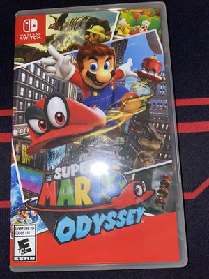 Super Mario odyssey for Sale in Humble, TX