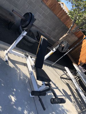 Tuff Stuff Olympic bench set for Sale in CRYSTAL CITY, CA