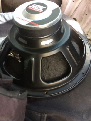 Speaker sub car stereo for Sale in Ontario, CA