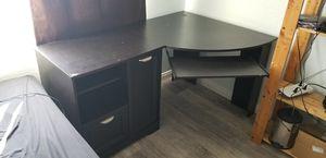 Dark Brown Corner Desk for Sale in San Diego, CA