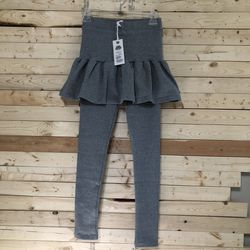 NWT KACY Gray Ruffles Leggings Fits S/M for Sale in Kent,  WA