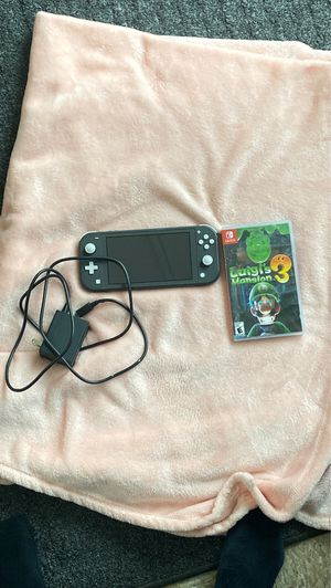 Nintendo Switch Lite with Luigis Mansion for Sale in Normal, IL