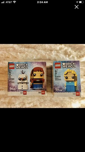 RETIRED LEGO NEVER OPEDED ELSA, OLIF, ANNA for Sale in Wardsville, MO