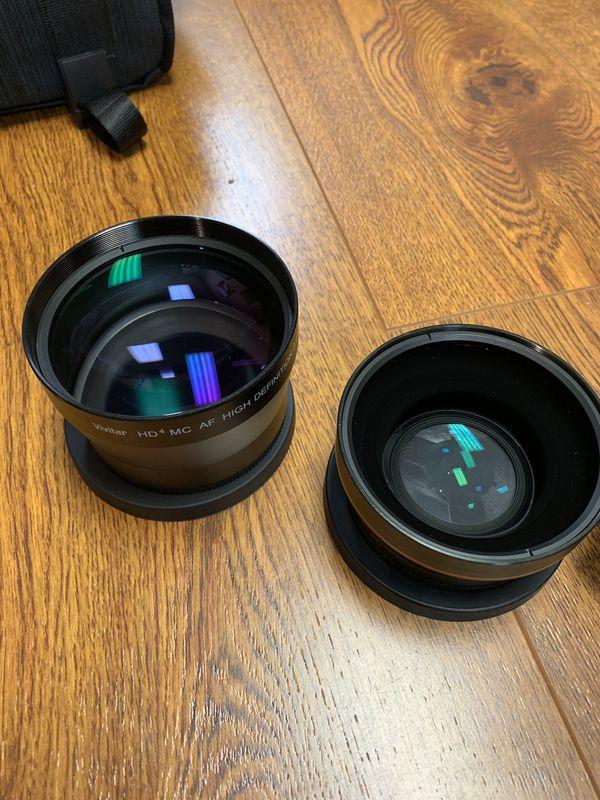 Perfect Canon EOS Rebel T2i set: lenses, case, body