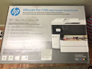 officejet pro 7740 wide format printer for Sale in Mountain View, CA