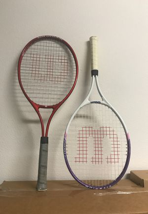 Wilson Tennis Rackets for Sale in San Diego, CA