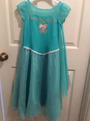 Disney Elsa dress size 6 for Sale in Redlands, CA