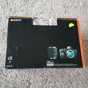 Sony A7 full frame camera with 28-70 lens (brand new) for Sale in Federal Way, WA