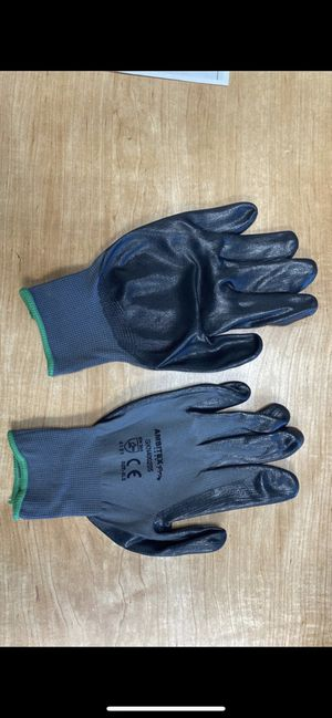 Black Nitrile Foam Coated Gloves 300 pairs Workgloves for Sale in Ontario, CA