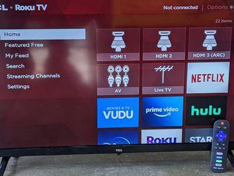 "TCL 32"" HD LED SMART ROKU TV for Sale in Surprise,  AZ"