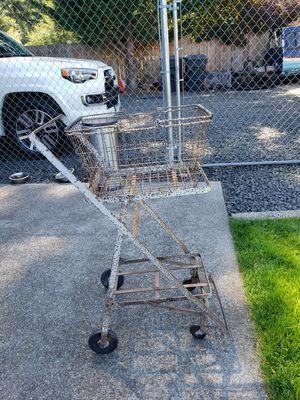 Antique shopping cart for Sale in Shelton, WA