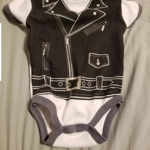 Greaser 50s baby costume clothes 0-3m for Sale in Las Vegas, NV