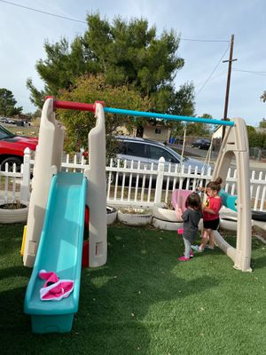 Step2 Swing set playhouse for Sale in Fontana, CA