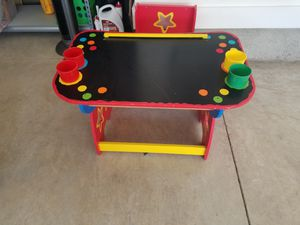 Kids colorful desk with chair for Sale in Franklin, TN