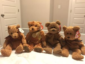 Teddy Bear Ty Beanie Babies for Sale in Norfolk, VA