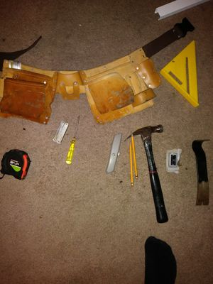 Carpentry basic hand tools best offer!! for Sale in Glen Burnie, MD