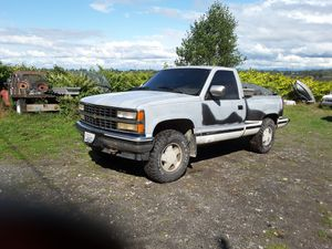 1991 Chevy Silverado 4X4 for Sale in Everett, WA