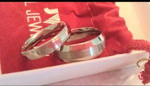 Titanium Platinum Ring Set for Sale in Fresno, CA
