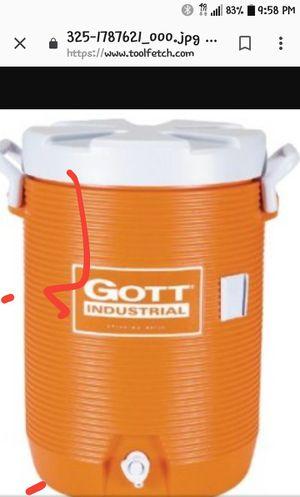 5-Gallon GOTT Cooler- Orange for Sale in Mesa, AZ