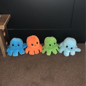 OCTOPUS MOOD PLUSHIES! for Sale in Portland, OR
