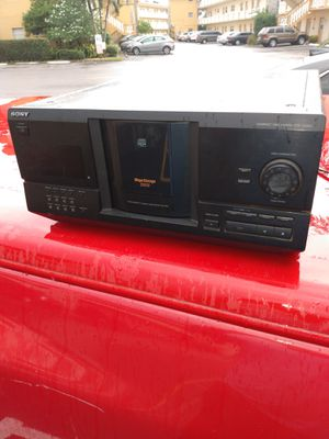Cd player sony mega storage 200 cd for Sale in Fort Lauderdale, FL