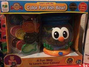 Color Fun Fish Bowl toy for Sale in Henderson, NV
