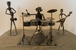 Music guitar drums saxophone decor Knick knack for Sale in Coral Springs, FL