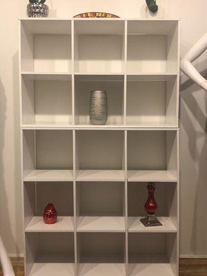 White IKEA bookcase for Sale in Chicago, IL