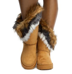 shiekh faux fur booties for Sale in Montclair, CA