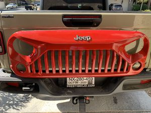 Gladiator Vader Grille Matte Black Upgrade for 2007 – 2017 Jeep Wrangler JK JKU Sahara Rubicon Sport Unlimited Front Exterior Body Part OE Replacement for Sale in Henderson, NV