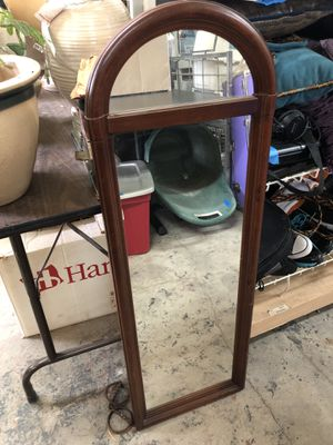 Nice wooden mirror for Sale in Fort Worth, TX