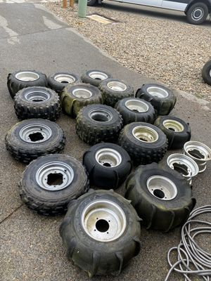 Atv quad wheels and tires for Sale in Portland, OR
