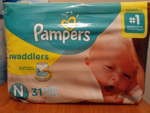Newborn Pampers for Sale in Grand Prairie, TX