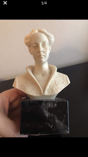 Bust on marble for Sale in Warrenville, IL