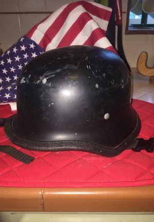 German style half motorcycle helmet for Sale in Fresno, CA