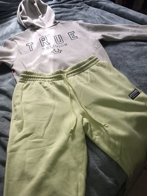 True religion sweater and adidas joggers for Sale in Coral Gables, FL