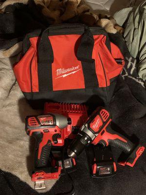 Brand new Milwaukee impact & drill set !! for Sale in Yakima, WA
