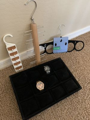 Tray for watches and closets organizers for Sale in Surprise, AZ