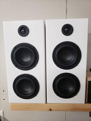 DIY Custom Speakers BASS Home Theater Speaker Bookshelf Speaker for Sale in Fresno, CA