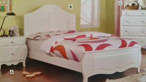 Beautiful New Twin Bed and Nightstand for Sale in Denver, CO